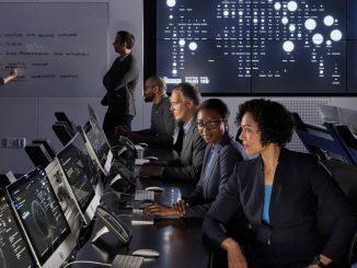 IBM Security Command Center, Cambridge, MA.